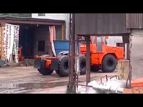 Трактор К-701 BALTIETS К-9420-709-Т6.обкатка.25.06.12.mp4 трактор колёсный 6х6