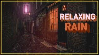🎧 Night Rain on a alley -10 Hours Relaxation and Sleep | CALM Rain | deep sleep | insomnia |