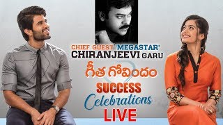 Geetha Govindam Success Celebrations LIVE- Chiranjeevi..
