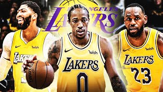 DeMar Derozan TRADE TO LAKERS CRAZY SCENARIO! NEW SUPER TEAM WITH LEBRON JAMES & ANTHONY DAVIS!