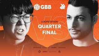 SO-SO vs BEATNESS   Grand Beatbox Battle 2019   LOOPSTATION 1/4 Final