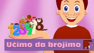 Učimo da brojimo - Branko Kockica | Dečije pesme | Pesme za decu | Jaccoled C