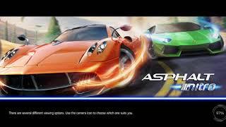 ASPHALT Intro gameply