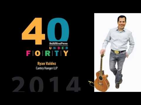 2014 Fort Worth Business Press 40 Under 40 - Ryan Valdez