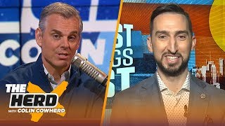 Never a moment Brees has been best QB in NFL, Kawhi controls the Clippers — Nick Wright | THE HERD