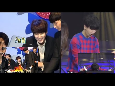 Best reaction? Scared Kyuhyun vs Yesung + Extra (Eng/Esp)