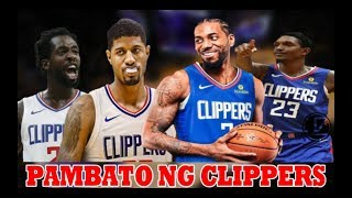 Handa na ang LINEUP | PAMBATO ng Los Angeles CLIPPERS