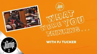 PJ Tucker plays What Were You Thinking and talks shoes, Lance Stephenson, more   The Jump   ESPN