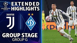 Juventus vs. Dynamo Kyiv: Extended Highlights | UCL on CBS Sports
