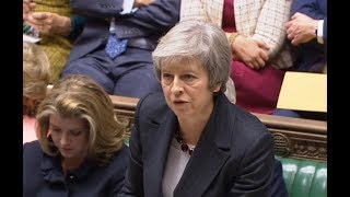 Theresa May updates Commons on Brexit - watch live