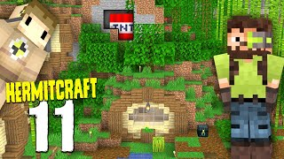 HermitCraft 7: 11   I TRAPPED HIS BASE FOR TAG