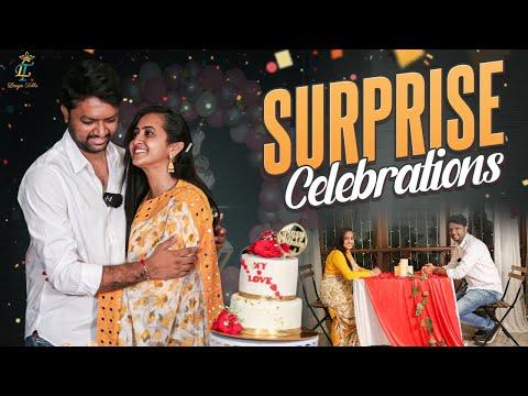 Lasya Talks: Manjunath throws surprise birthday party to Lasya