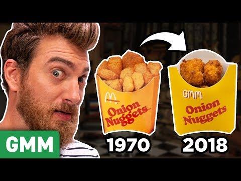 Recreating Discontinued McDonald's Menu Items (TASTE TEST)