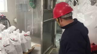 Lithium hydroxide Lithium carbonate bulk jumbo super bag packing system