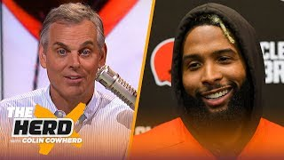 Colin talks OBJ's GQ interview and goals, says Belichick is greatest of all time | NFL | THE HERD