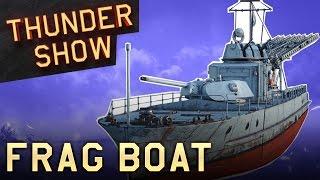 Thunder Show: Frag boat