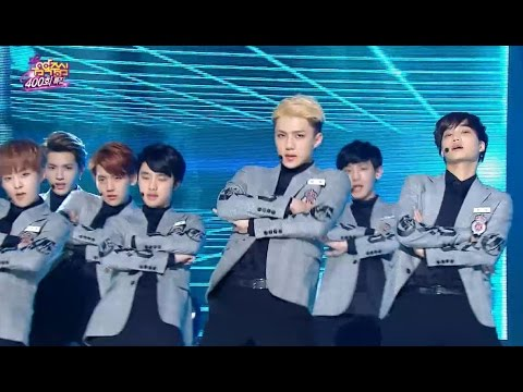 【TVPP】EXO - Sorry Sorry (Super Junior), 엑소 - 쏘리 쏘리 (슈퍼주니어) @ 400th Speical Show! Music Core Live