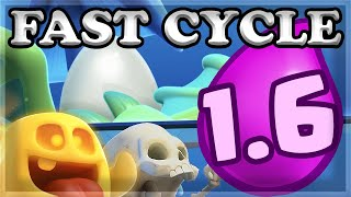 BEATING the Challenge with FAST 1.6 CYCLE DECK 🍊