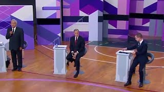 Mexico holds presidential debate addressing issues of border security and trade