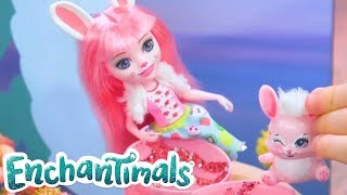 Enchantimals 💜 Spring Fashion 💜Toy Play   Videos for Kids