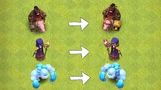 "NEW HOG,WITCH & GOLEM LEVELS!! ""Clash Of Clans"" NEW UPDATE!!"