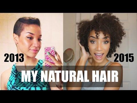 HAIR| My Natural Hair Journey + Length Check