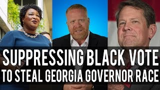 Brian Kemp is Trying to Steal Georgia's Election for Governor From Stacey Abrams!