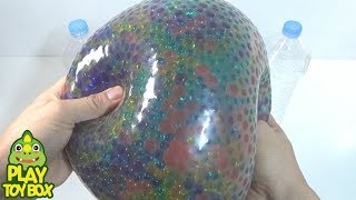 BIG Orbeez Balloon Gummy Color Jelly Slime Clay Surprise Toys