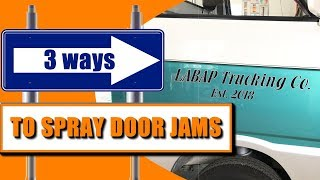 3 Ways To Spray Door Jambs + Live Q&A