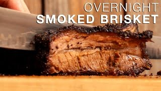 Smoked Brisket Recipe Overnight in the Blaze Charcoal Kamado Grill | Delicious, Tender & Juicy!