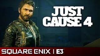 Just Cause 4 Full Presentation | Square Enix E3 2018