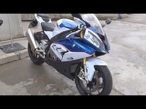 BMW Motorrad S 1000 RR Alpine White (2016) Exterior and Interior in 3D