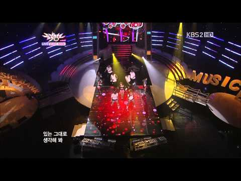 Hyuna   Bubble Pop! Music Bank 2011 07 29