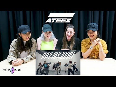 [MV REACTION] SAY MY NAME - ATEEZ | P4pero Dance