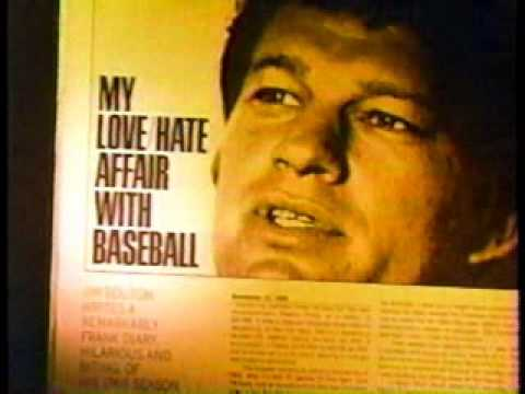 Ball Four Jim Bouton Sportscenter Segment 1970s