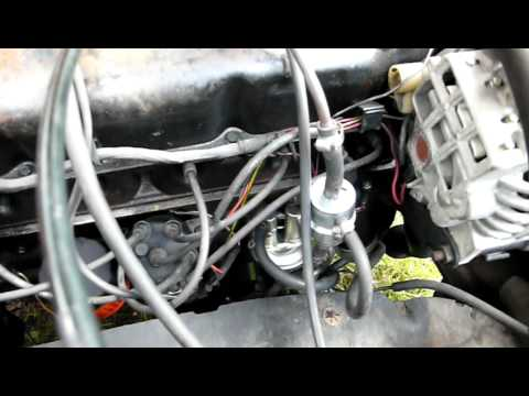 1981 dodge ram d150 v6 new fuel pump youtube 88 firebird wiring diagram 88 chevy wiring diagram