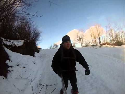 Bluemarin - Ski / Climbing experience with Gopro HD (NOV 24th 2014)