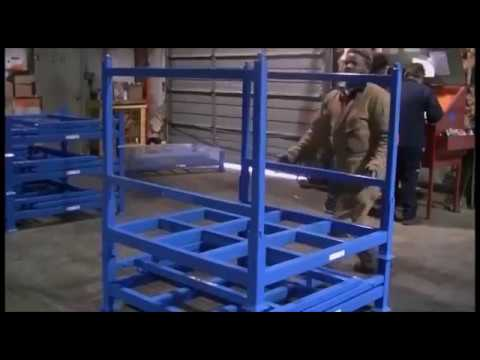 Tier-Rack Folding Racks