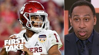 Kyler Murray isn't a 1st-round NFL draft pick - Stephen A. | First Take