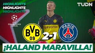 Highlights | Borussia Dort 2 - 1 PSG | Champions League - 8vos Final | TUDN