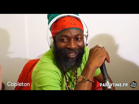 CAPLETON - Freestyle at Party Time radio show -  27 SEPT 2014