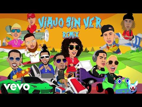 Jon Z - Viajo Sin Ver Remix (Lyric Video) [feat. De La Ghetto, Almighty, Miky Woodz, El...