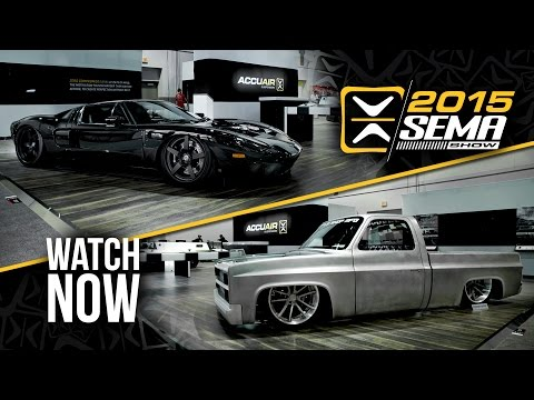 SEMA 2015 | Presented by AccuAir