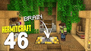 HermitCraft 7: 46   TREE HOUSE BRAIN!