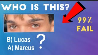 Can You Guess The Dobre Brothers By Their Eyes? / Lucas and Marcus • Ivanita Lomeli