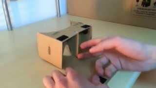 شرح طريقة تركيب علبة الواقع الإفتراضي Google CardBoard