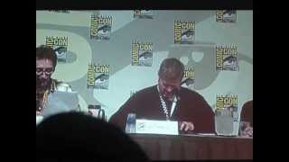 SDCC 2012 | Adventure Time Panel