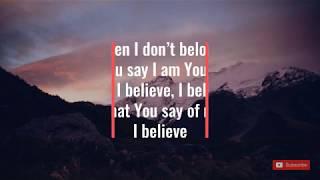 Lauren Daigle | You Say | Lyrics
