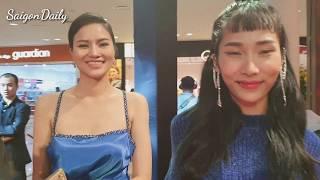 Người mẫu Lê Phương tái xuất khoe con gái xinh xắn ở sự kiện