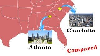 Atlanta and Charlotte Compared